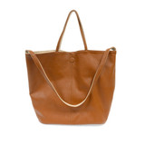 Joy Susan Riley Reversible Slouchy Hobo Handbag - Caramel - Profile 2