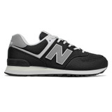 New Balance 574 Men's Classics - Black with Grey - ML574SCI - Profile