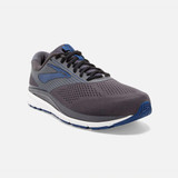 Brooks Men's Addiction 14 - Blackened Pearl / Blue / Black - 110317-028 - Main