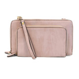 Joy Susan Brushed Mini Convertible Zip Wristlet - Wisteria - Profile