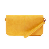 Joy Susan Mia Multi Pocket Crossbody Clutch - Dijon - Profile