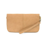Joy Susan Mia Multi Pocket Crossbody Clutch - Camel - Profile