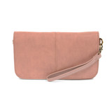 Joy Susan Mia Multi Pocket Crossbody Clutch - Blush - Profile