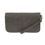 Joy Susan Mia Multi Pocket Crossbody Clutch - Charcoal - Profile