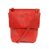 Joy Susan Aimee Front Flap Crossbody - Red - Profile 2