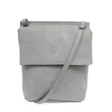 Joy Susan Aimee Front Flap Crossbody - Chambray - Profile 2