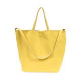 Joy Susan Riley Reversible Slouchy Hobo Handbag - Yellow - Profile 2