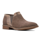 Clarks Women's Camzin Mix - Dark Taupe - 26153006 - Angle
