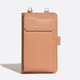 Pixie Mood Rae Phone Crossbody - Apricot - Profile