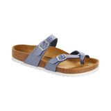 Birkenstock Women's Mayari - Icy Metallic Azure Blue - Profile
