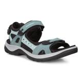ECCO Women's Yucatan Sandal - Trellis / Eggshell Blue 69563-51762 - Profile