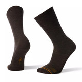 Smartwool Men's Anchor Line Crew Sock - Chestnut Brown - Dual