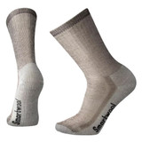 Smartwool Hike Medium Crew Socks - Dark Brown - Dual