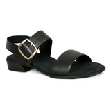 Munro Women's Cleo - Black Leather - M427981 - Angle