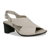 Munro Women's Laine - Taupe Snake - M455150 - Angle