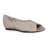 Munro Women's Francesca - Taupe Leather - M183741 - Angle