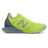 New Balance Women's FuelCell Echo - Lemon Slush with Light Slate & Stone Blue - WFCECCL - Profile