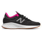 New Balance Fresh Foam Roav Fusion - Black with Steel - WRVFUCB - Profile