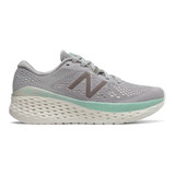 New Balance Women's Fresh Foam More - Rain Cloud with Sea Salt & Light Reef - WMORRS - Profile
