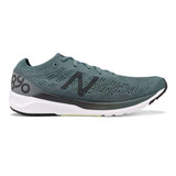 New Balance Men's 890V7 - Dark Agave/Orca/Bleached Lime Glo - Profile Pic