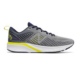 New Balance Men's 870v5 - Gunmetal with Pigment & Sulphur Yellow - M870GY5 - Profile