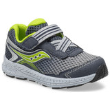 Saucony Toddler Ride 10 Jr - Navy / Green - Angle