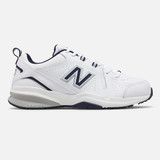New Balance Men's 608v5 Cross Training - White with Navy - MX608WN5 - Profile