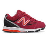 New Balance Toddler 888v2 Sneaker - Crimson / Black - IK888CB2 - Profile