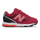 New Balance Toddler 888v2 Sneaker - Crimson / Black - IK888CB2 - Profile