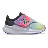 New Balance Toddler Fresh Foam Fast - Neo Violet with Black - Profile