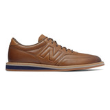 New Balance Men's 1100 - Brown With Maroon - Profile Pic