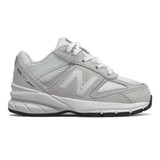New Balance Kid's 990v5 - Nimbus Cloud with Silver Metallic - Profile Pic