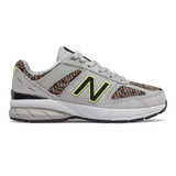 New Balance Toddler 990 V5 - Light Aluminum with Black - Profile Pic