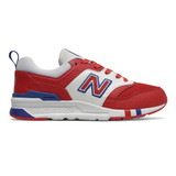 New Balance Kid's 997H - Team Red with Team Royal - Profile Pic