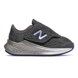 New Balance Infant's Fresh Foam Fast - Magnet/ UV Blue - Profile Pic