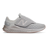 New Balance Kid's Fresh Foam Fast - Summer Fog with Champagne Metallic  - Profile Pic