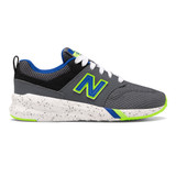 New Balance Kid's 009 V1 - Lead/ Uv Blue/ Black - Profile Pic