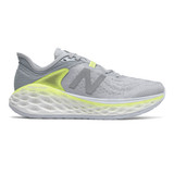 New Balance Women's Fresh Foam More V2 - Light Cyclone with Lemon Slush - Profile Pic