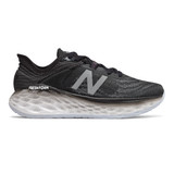 New Balance Women's Fresh Foam More V2- Black with Outerspace - Profile Pic