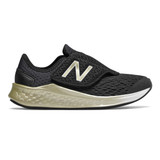 New Balance Kid's Fresh Foam Fast - Black with Metallic Gold - Profile Pic