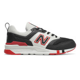 New Balance Kid's 997H - Black with Team Red - Profile