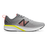 New Balance Men's 870v5 - Silver Mink with Lemon - Profile