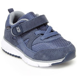 Stride Rite Made2play® Ace Sneaker - Navy - Angle