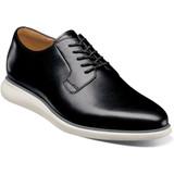 Florsheim Men's Fuel 5-Eye Plain Toe Oxford - Black - Angle