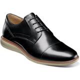 Florsheim Men's Ignight Cap Toe Oxford - Black - Angle