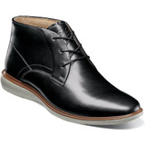 Florsheim Men's Ignight Plain Toe Chukka - Black - Angle