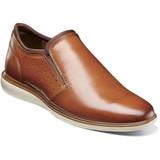 Florsheim Men's Ignight Plain Toe Slip On - Saddle Tan - Angle