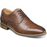 Florsheim Men's Uptown Cap Toe Oxford - Cognac - 15166-221 - Angle