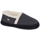 Acorn Women's Moc Ragg Slipper - Dark Charcoal Heather - Profile