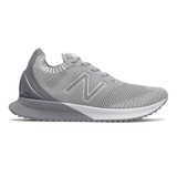 New Balance Women's FuelCell Echo - Silver Mink / Steel - Profile